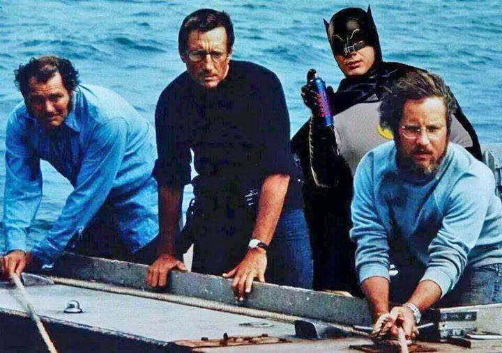 Batman is a great second line of defense in case of shark attack http://t.co/e0xdZdJnCd