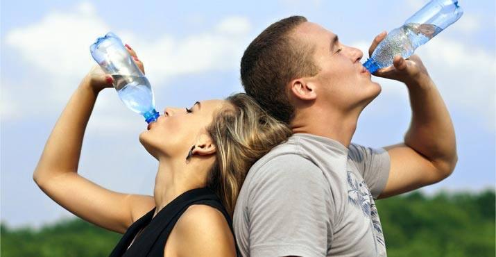 Consumo acqua alle stelle per il caldo in Italia
