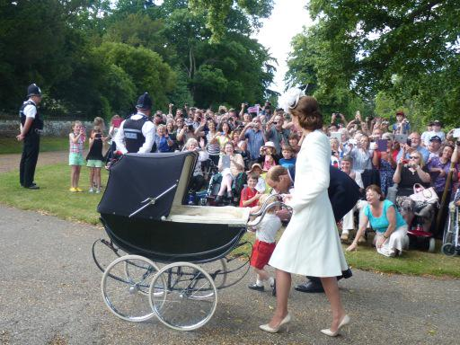 Крещение принцессы Шарлотты Кембриджской