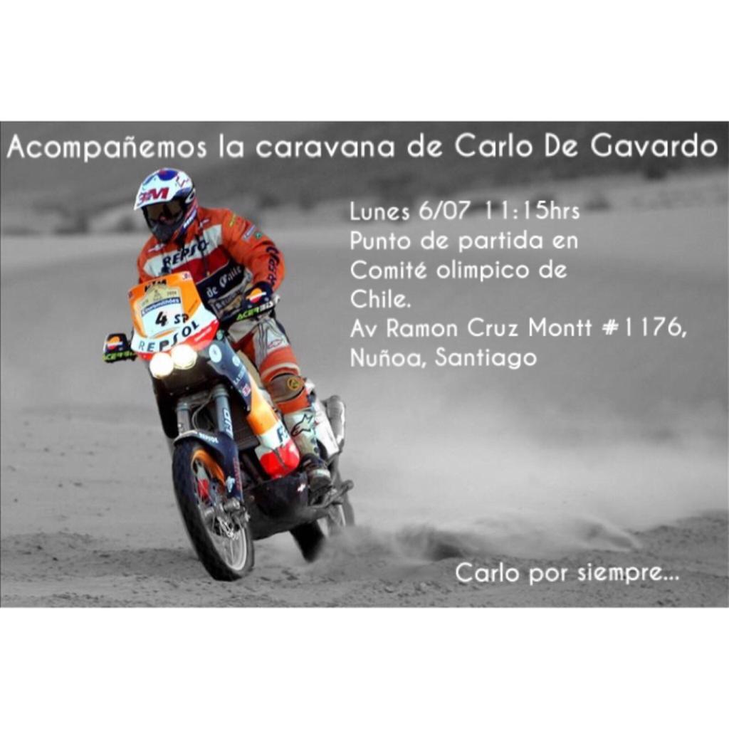 Vamos a despedirnos de un grande como se merece   #CarlosDeGavardo #Condordehuelquen http://t.co/DRYj7lkbjK