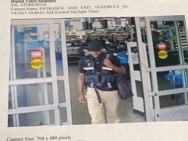 Man poses as armored truck employee, walks out of Walmart with $75,000 http://t.co/LVQrGWUPIe