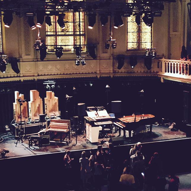 Ready for @nilsfrahm http://t.co/Cq44wtNeCR