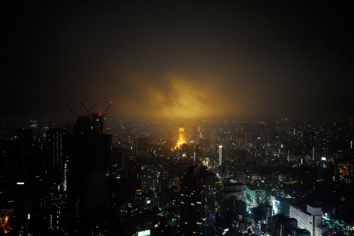 煙る東京 Misty City http://t.co/EjFAkiopPo