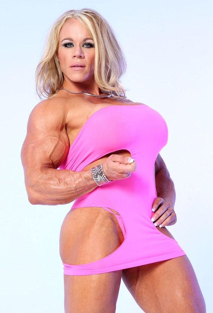 young bodybuilder Huge female aleesha