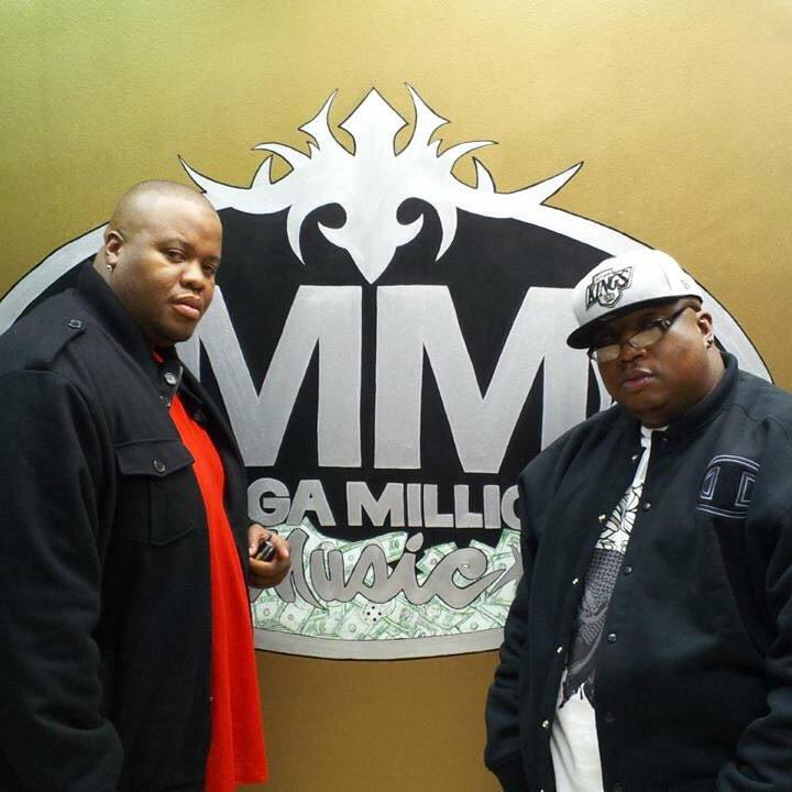 Me and @E40 at my studio working http://t.co/uszkXhbiMH