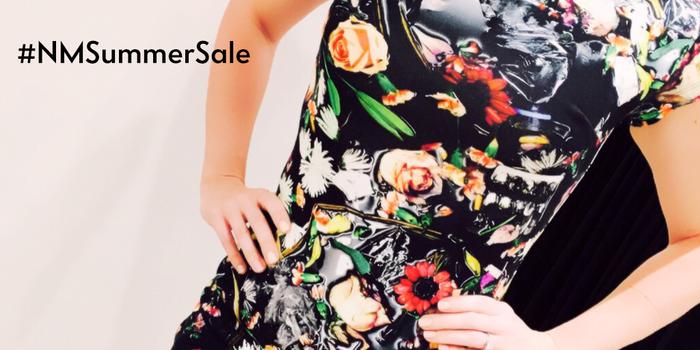 This @WorldMcQueen Floral Sheath Dress is a must-have. And now it's on sale! http://t.co/t9sODt2yJV #NMSummerSale http://t.co/7DWcba3iY5