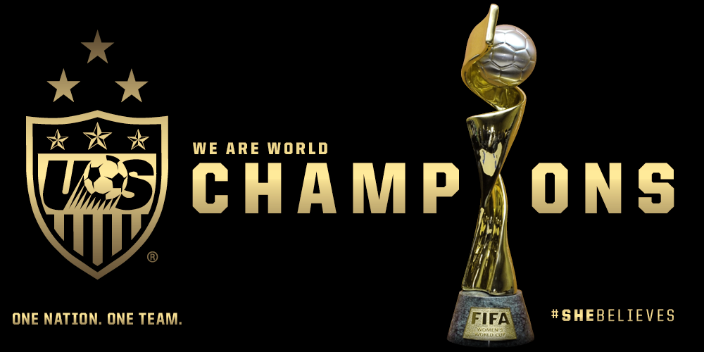 Us soccer wnt on twitter final usa 5 japan 2 shebelieves the us soccer wnt on twitter final usa 5 japan 2 shebelieves the uswnt are world cup champions httptn1eioobxum publicscrutiny Image collections
