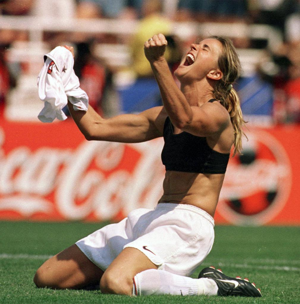 Tonight we're gonna party like its 1999!  #USWNT http://t.co/b6vwkGMN5Z