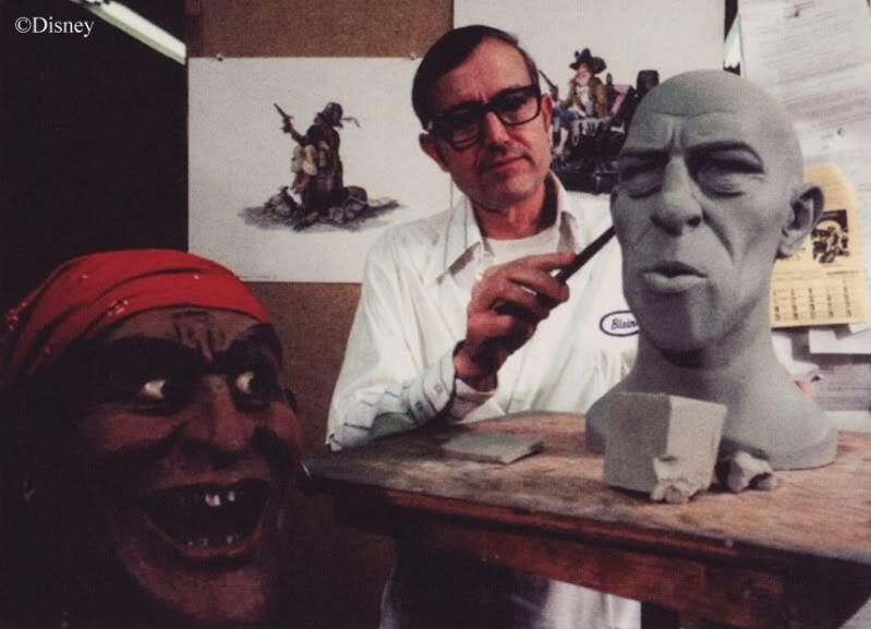 Blaine Gibson, Disney Legend Behind 'Pirates' And 'Haunted Mansion,' Dies At 97