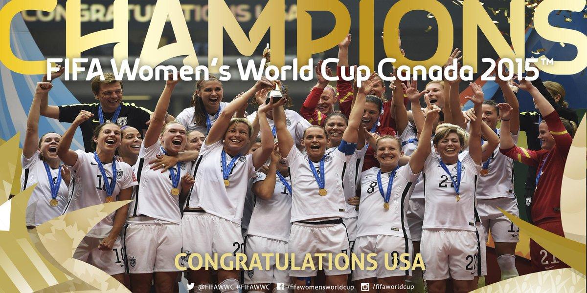 1991. 1999. 2015. CHAMPIONS. #FIFAWWC #USA http://t.co/zeeAxz4kCc