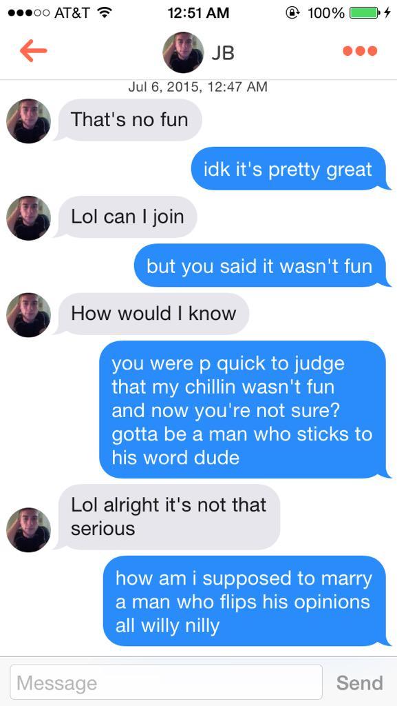 Tinder fuckboys