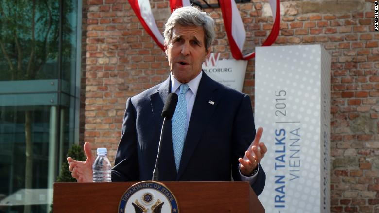 U.S. Sec. of State Kerry says talks over Iran nuke deal