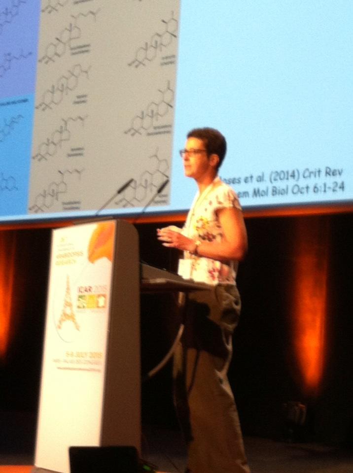 #ICAR2015 Anne Osbourn talk about plant metabolic diversity http://t.co/4iKMtwgYqT