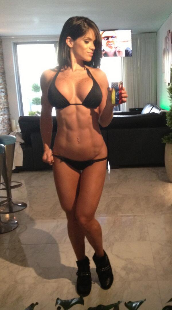 fitness girl selfies