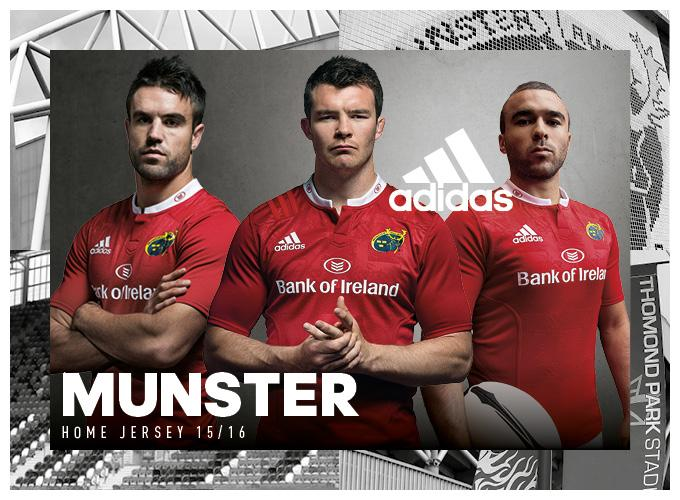 Check out the 2015/16 Munster @adidasrugby home & alternate jersey #MyMunster Available @lifestylesports 25th July http://t.co/1WgW5RMAu7