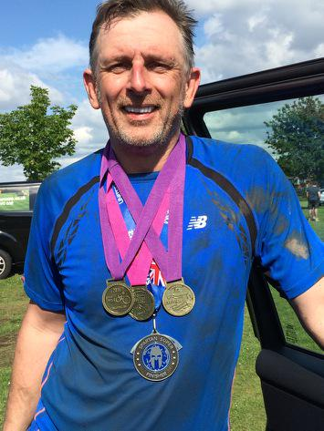 Congratulations @jondrape for completing @Great_Run @Great_Cycle @Great_Swim & @SpartanRace and raising £7k! Thanks! http://t.co/90fSplYxsQ