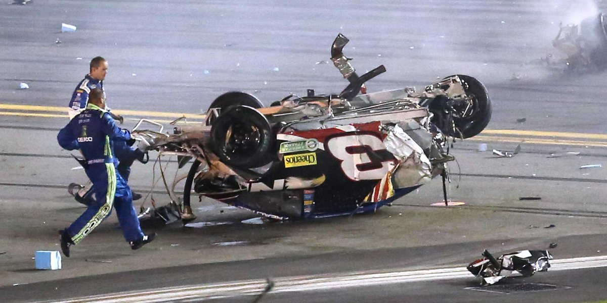 Video incidente Daytona Gara Auto Nascar