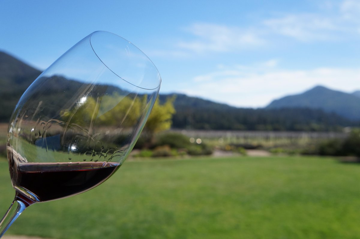 It's a new day! Do YOU know where your... #Wine glass is?!? MT @amylieberfarb #winelover #SonomaChat https://t.co/XCVOsHua5T