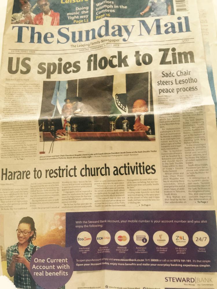 Trista went to Zimbabwe to cash in her Zim  CJPFtI1WsAAQBjy
