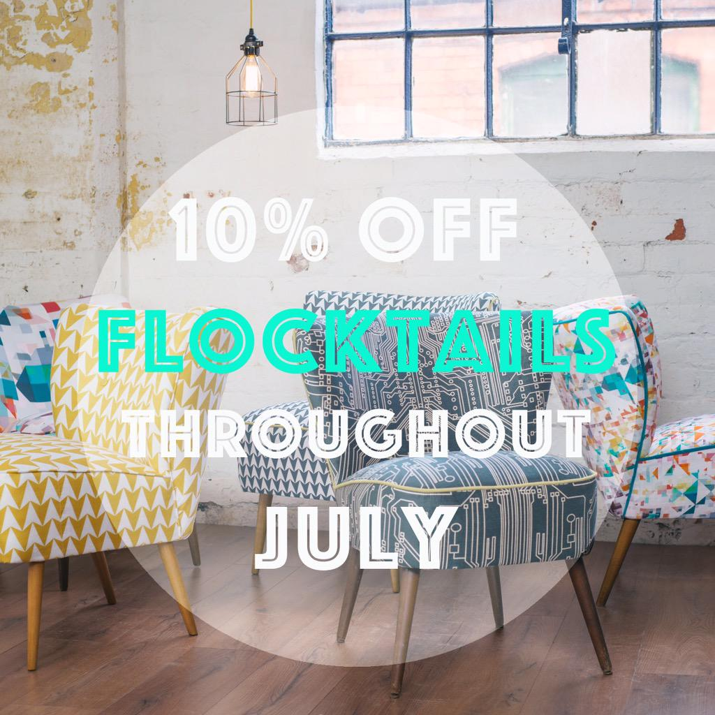 RT @Studioflock: Celebrating our collaboration with @florrieandbill Enter code FLOCKTAIL to get 10% discount!! http://t.co/S8qT46w0Hb http:…