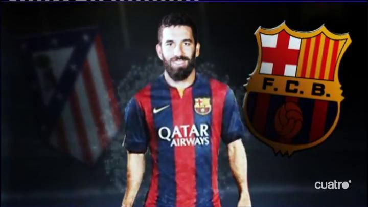 Arda Turan es oficialmente jugador del FC Barcelona