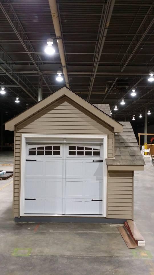 Graphics for playhouse garage door graphics