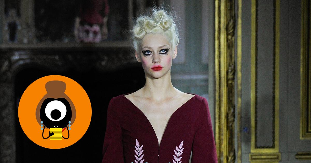 .@SuzyMenkesVogue gives us her verdict on the @ulyanasergeenko #Couture #FW15 collection: http://t.co/6GTgxjBCY8 http://t.co/sSkbj7L1ip