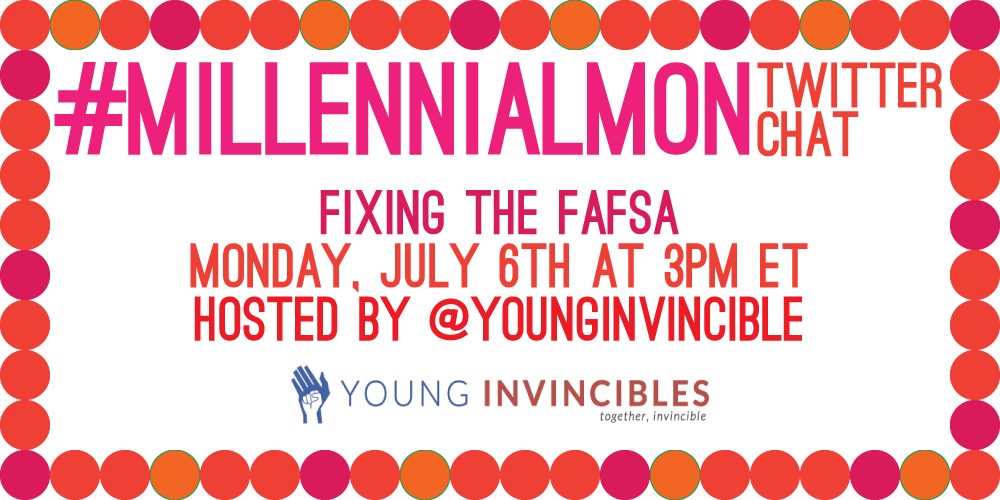 Less than 1 hour until #MillennialMon! RT and share if you're planning on participating! http://t.co/ACq8sphT1V
