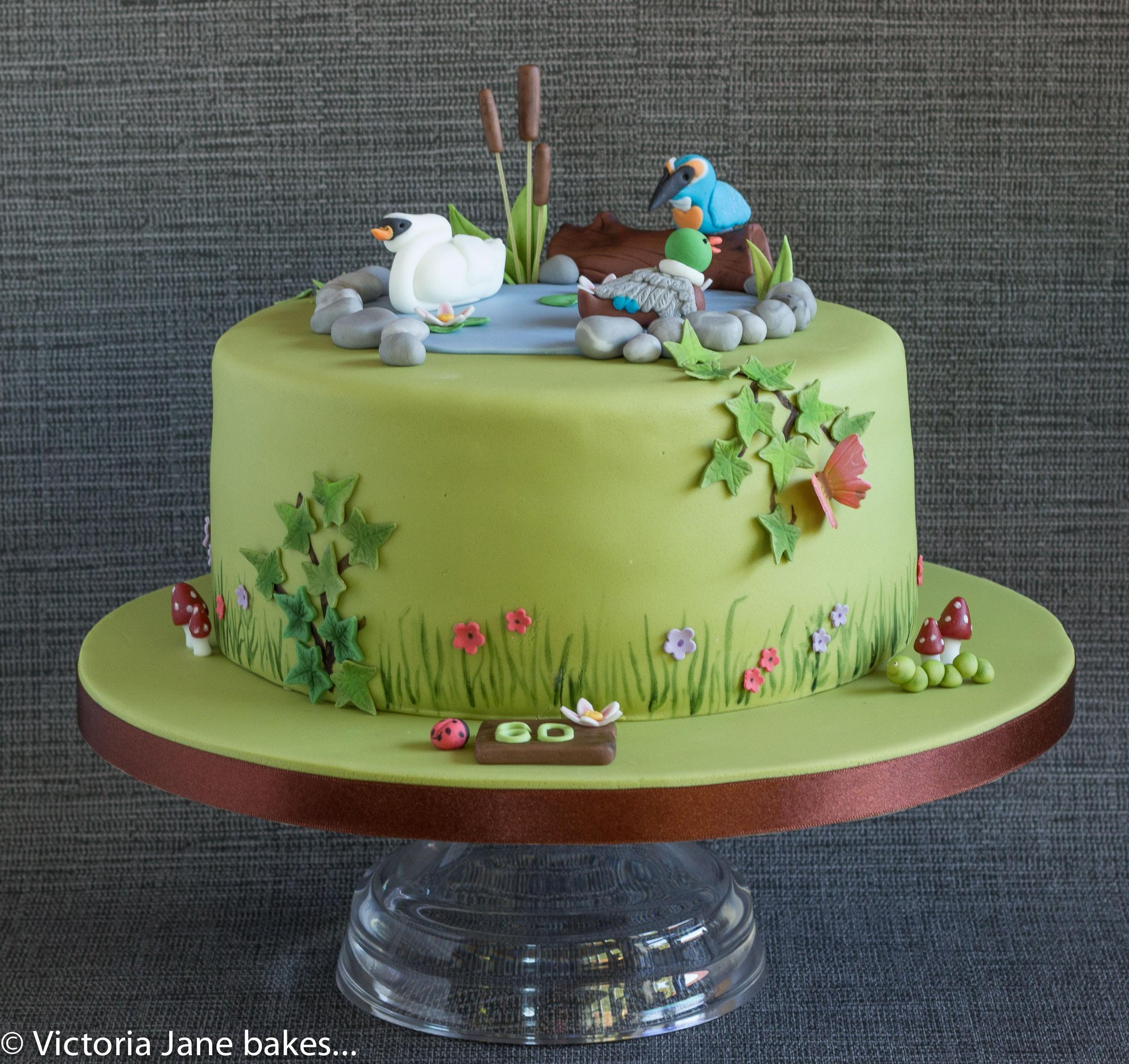 Victoria Jane Bakes on Twitter 60th birthday cake for a nature