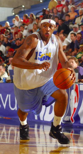 Rebranded  UtahJazzSL past notable players in the Rocky Mountain Revue  included  Carmelo Anthony ( 0ab861a6d