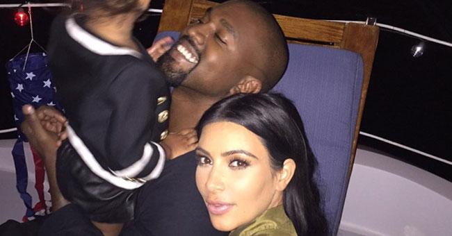So *this* is how @KimKardashian and @kanyewest celebrated 4 July (it's very sweet) http://t.co/jLIXRZgdQx http://t.co/HNa99wfAhV