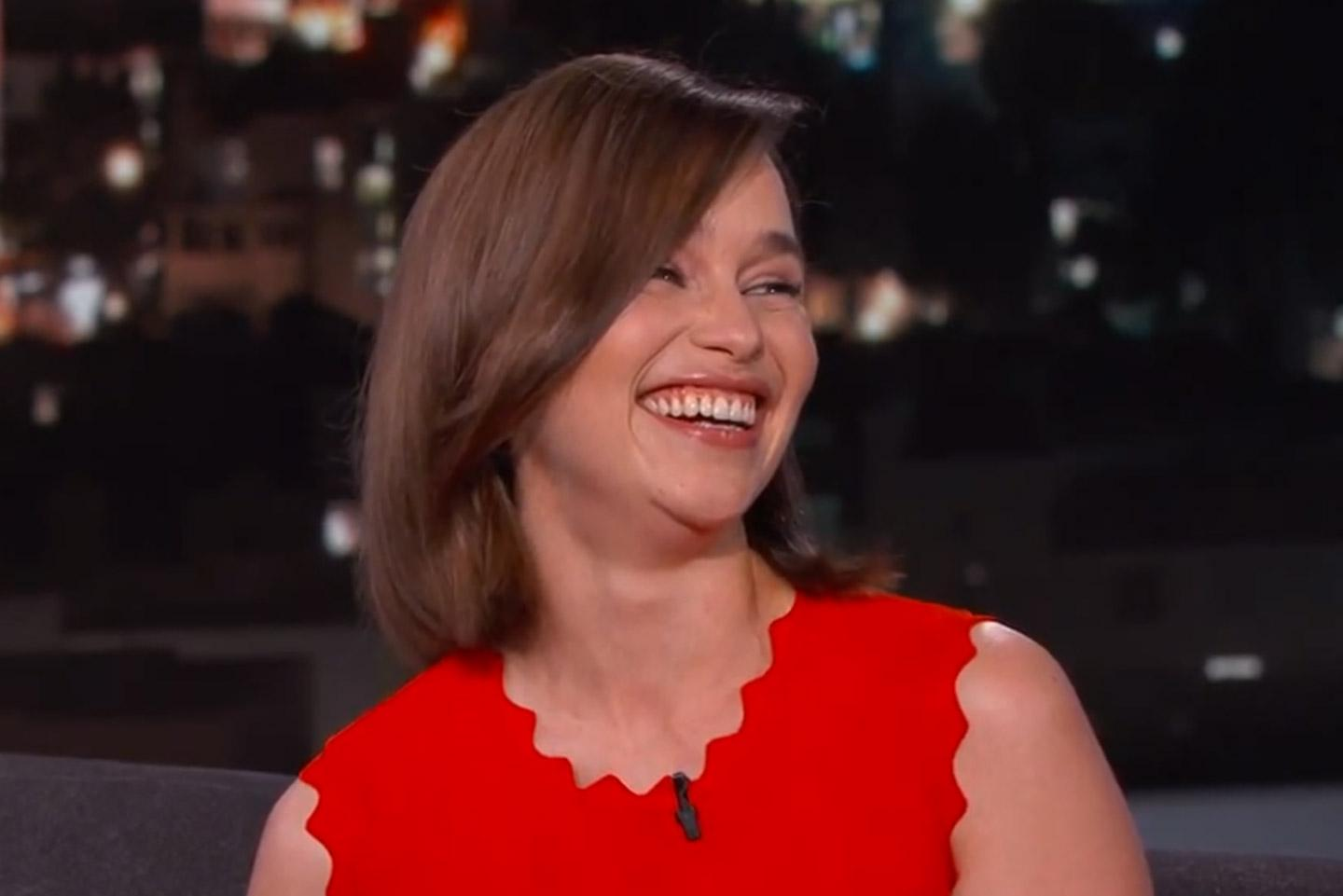 """Have you seen Emilia Clarke transform into """"Cali from the Valley?"""" http://t.co/5hTWXmtmeW http://t.co/mQgP3s9iBx"""