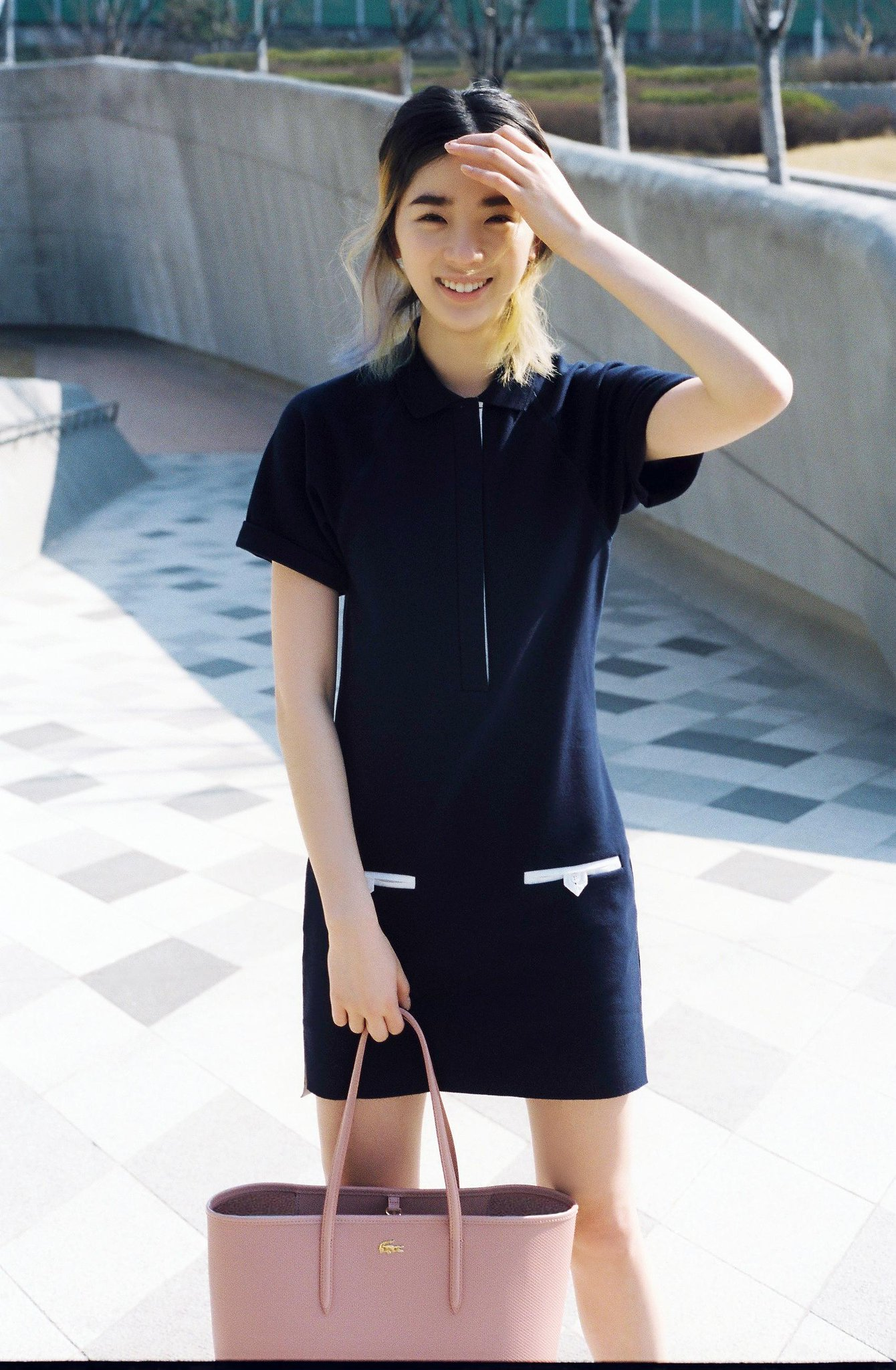 Blogger & model @Ireneisgood is all smiles in our Lacoste polo dress. http://t.co/zwVBabqkF8 #MyLacostePolo http://t.co/6Ep5Bl1TUt
