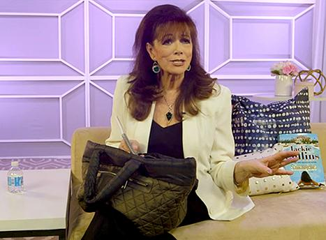 RT @usweekly: Exclusive: @JackieJCollins shows Us what's in her bag! http://t.co/q5yAGjVExX http://t.co/xBxUEwZiWR