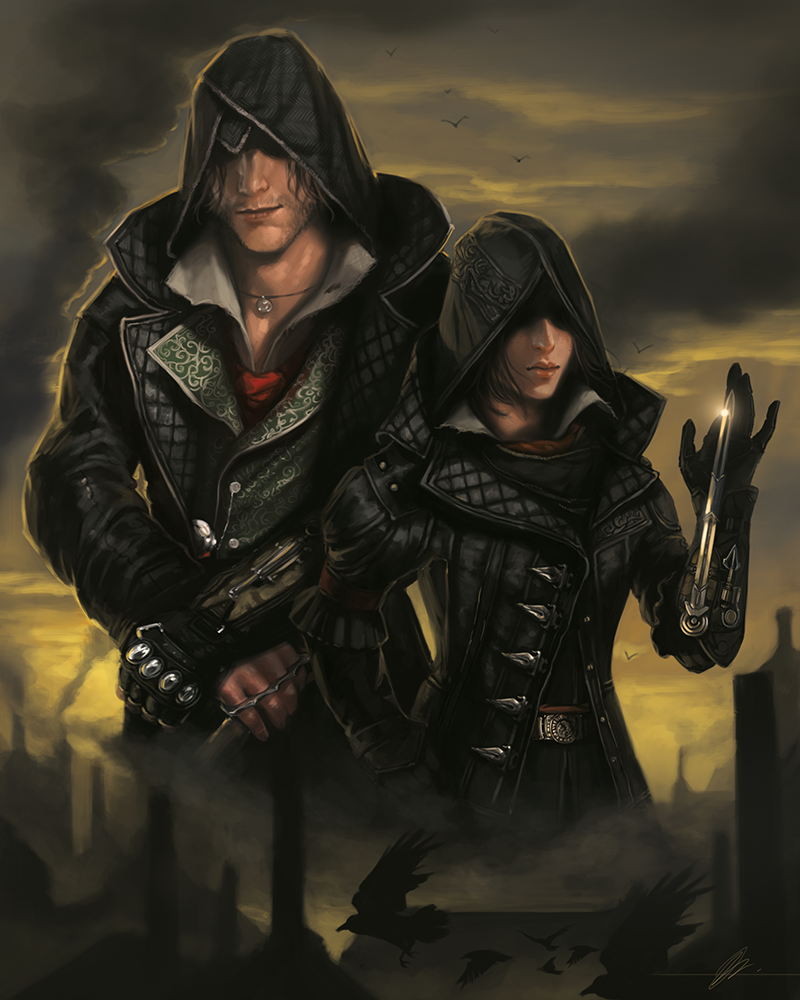 Jodie Muir On Twitter Here S The Jacob And Evie Frye Print I Made For Assassinscreed At Ubimtlcc I Can T Wait For Ac Syndicate Http T Co 0hjeguqp7b