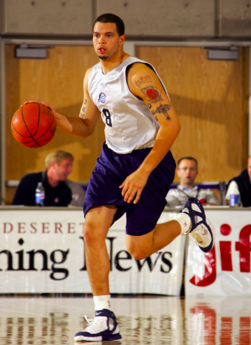 Rebranded  UtahJazzSL past notable players in the Rocky Mountain Revue  included  Deron Williams ( a5deb8592