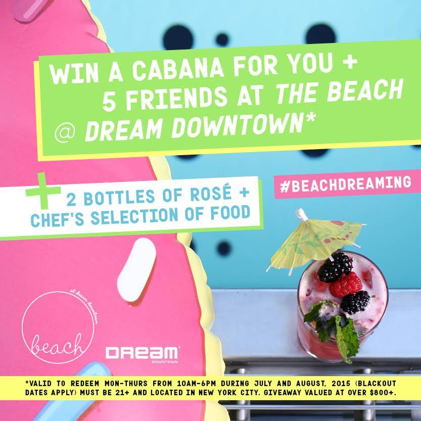 Alright, #NYC! Tweet us + @DreamDWTN your fave beach getaway with #BeachDreaming to party—on us. (Must follow both!) http://t.co/Nuj3ZTSa2H