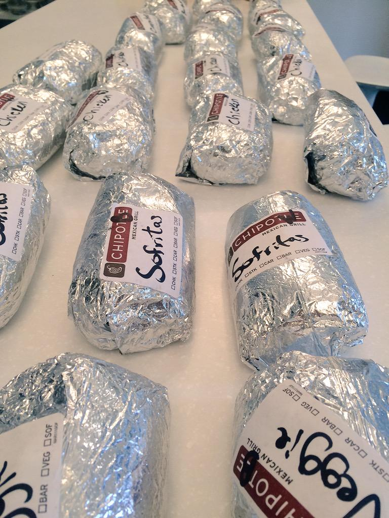 Like a yellow brick road, except silver and with @ChipotleTweets burritos instead 😋🙌🏼 http://t.co/zRYVKSQJH8