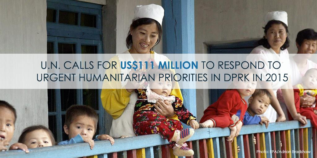 $111 million needed to fund ag, health, water, sanitation projects in #DRPK http://t.co/vi5EBbE5lR  via @UNrightsSeoul