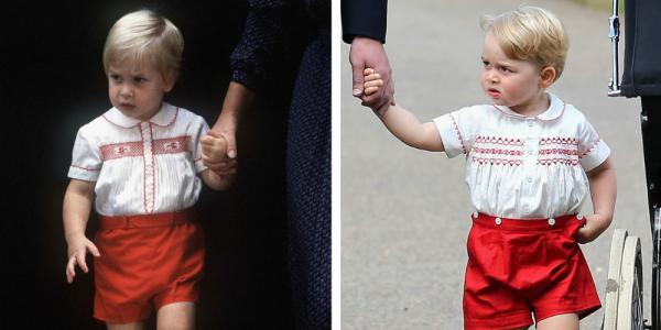 Alle keren dat Prins George PRECIES op Prins William leek http://t.co/MDRmPVtOT8 http://t.co/b4ei0xs8N8