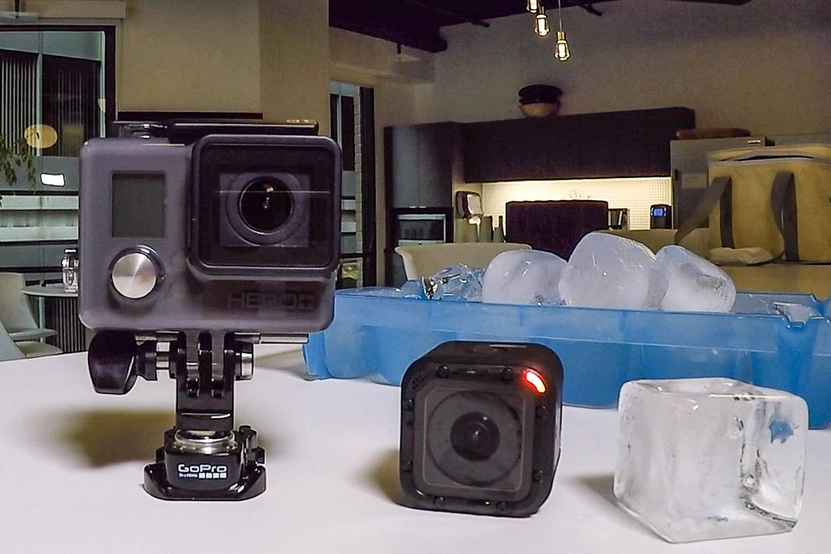 An iPod Shuffle moment? GoPro shrinks the camera again by @geoffreyfowler