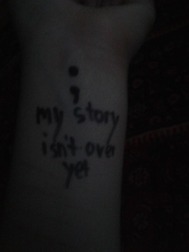 Project Semicolon http://t.co/PBP6A4tUVE