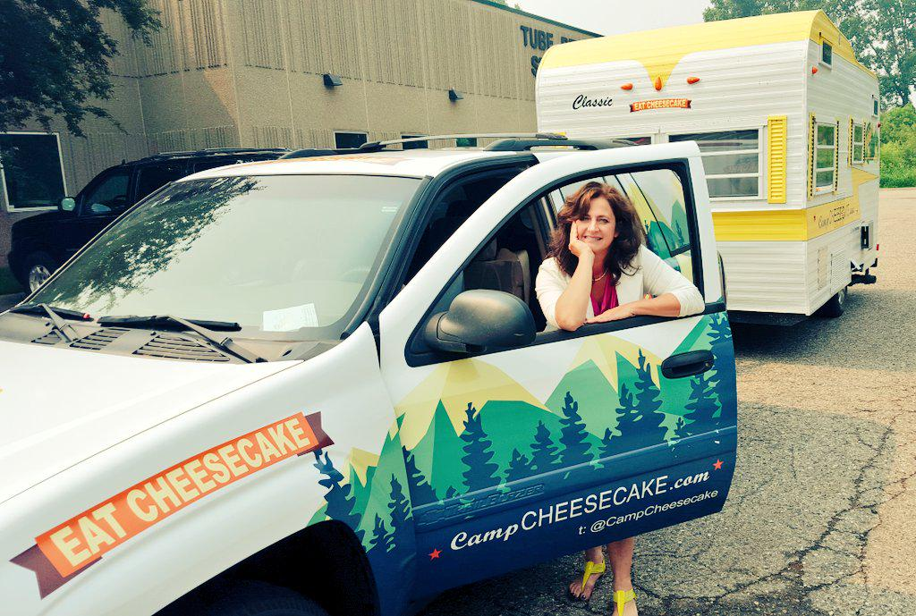 Look what I just picked up?!!!!! @CampCheesecake #foodtruck is ready to go! #eatcheesecake http://t.co/UFBdph44wZ