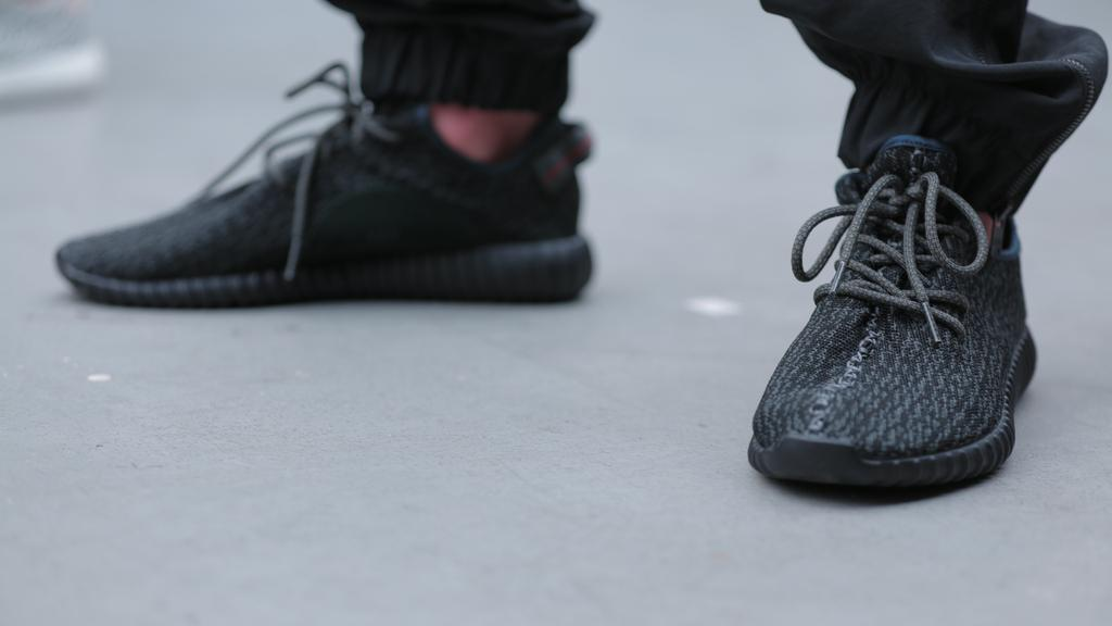 here s the first news on a release date for the all black adidas yeezy boost 29c35fc65