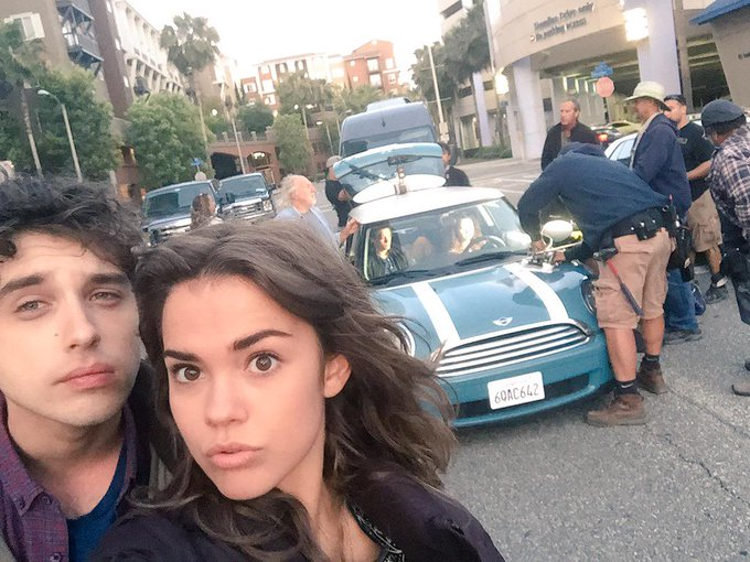 Brandon and Callie take this bad boy to Mexico tonight on The Fosters. 8/7c on @ABCFamily http://t.c
