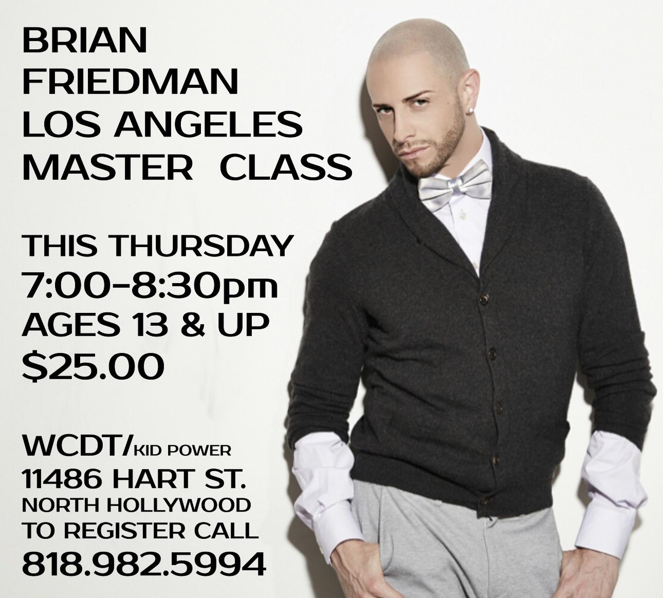 THIS JUST IN... I'm TEACHING in LA THIS THURSDAY THE 9TH @ WestCoastDanceTheater @ 7PM! Check this flyer 4 details! http://t.co/RlDEQ6cFDA