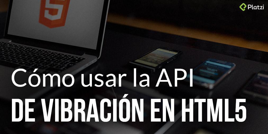 HTML5 te permite agregar vibración en tus aplicaciones, te enseñamos cómo hacerlo ☛  https://t.co/72WQlOgK9r http://t.co/5Y0cnn59yX
