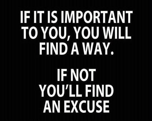 No more excuses, force your way and make things happen. Just do it! http://t.co/bAPqg92506