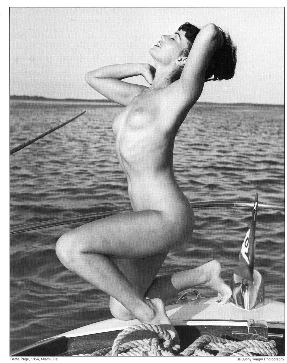 Boating nude photo