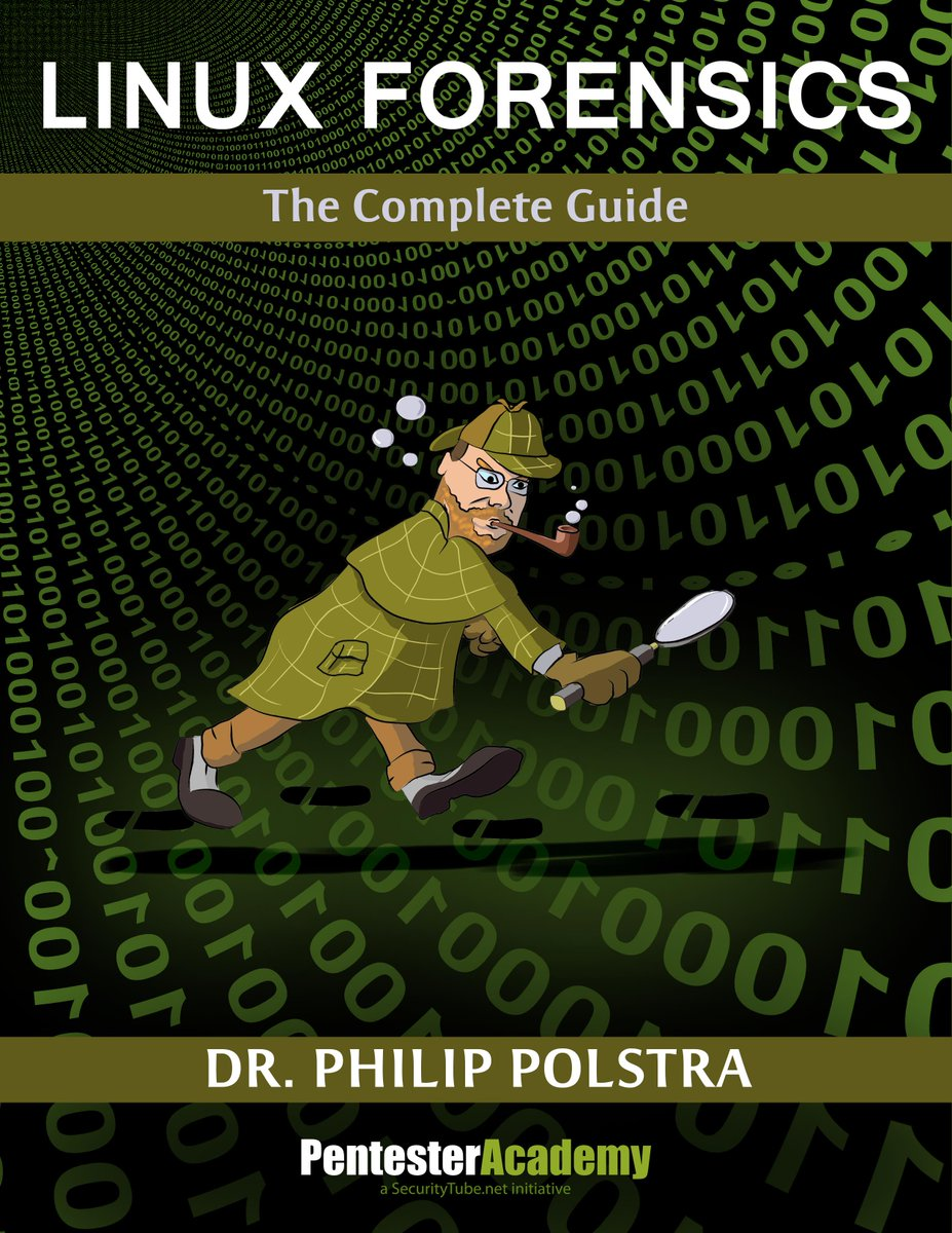 LINUX FORENSICS is Pentester Academy's first published book by @ppolstra Signup for a copy https://t.co/oYpQ9ddrqQ http://t.co/Qmp7rd7lt8